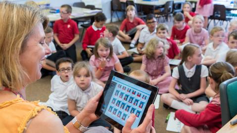 The Teacher app in Habour Primary and Nursery School