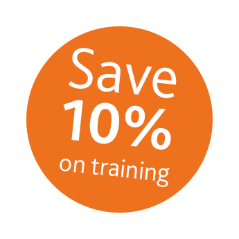 Save 10% on training